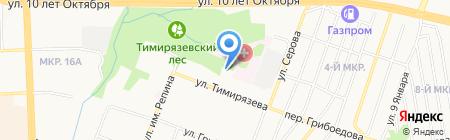 Детский сад №206 на карте Ижевска