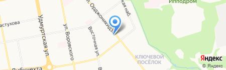 Паркетстиль на карте Ижевска