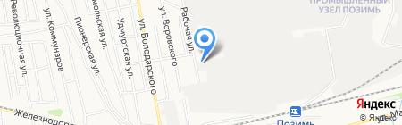 Орто-Мед на карте Ижевска