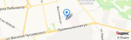 Авант на карте Ижевска