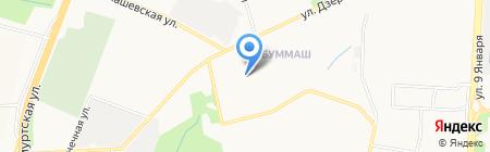 Новый город на карте Ижевска