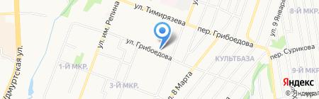 Хозтовары на карте Ижевска