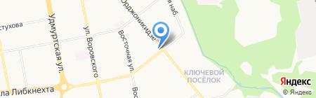 Хмельная лавка на карте Ижевска