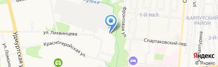 Ок-Авто на карте Ижевска