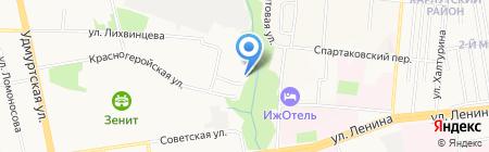 Страна чудес на карте Ижевска