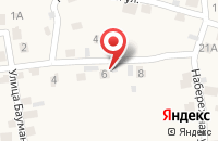 Схема проезда до компании Строитель в Бавлах