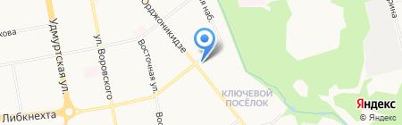 Республиканский центр дополнительного образования для детей на карте Ижевска