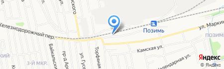 ТрансКонтейнер на карте Ижевска