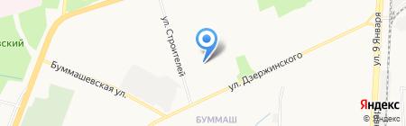 Кнопик на карте Ижевска