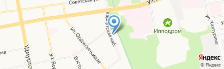 КранСтрой на карте Ижевска