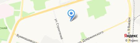 Тайга на карте Ижевска