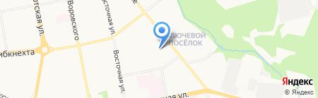 Домовёнок на карте Ижевска