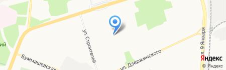 Детский сад №194 на карте Ижевска