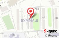 Схема проезда до компании Космос в Ижевске