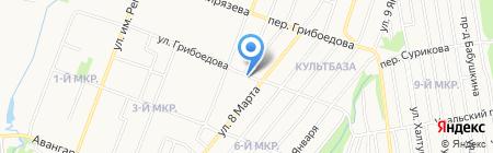 Славутич на карте Ижевска