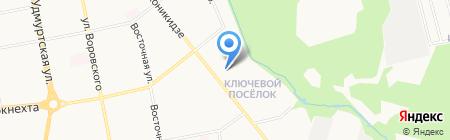 Дом Дружбы Народов на карте Ижевска
