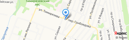 Светлый дом на карте Ижевска