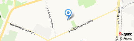 Детская школа искусств №3 на карте Ижевска