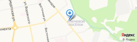 Дамский Каприз на карте Ижевска