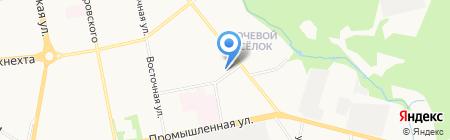 Специальный отдел судебных приставов г. Ижевска на карте Ижевска