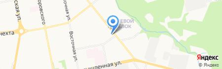 Мойдодыр на карте Ижевска