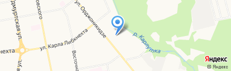 Реабилитационный центр для инвалидов и пожилых людей на карте Ижевска