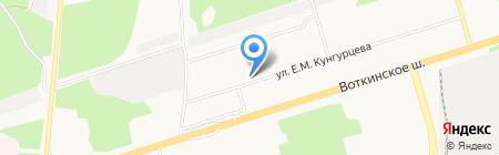 Ассорти на карте Ижевска