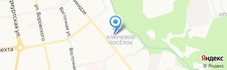 Марта на карте Ижевска