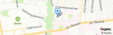 ИжОтель на карте Ижевска