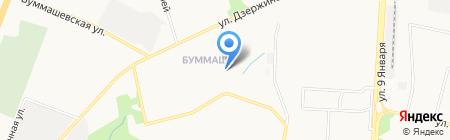 Детский сад №244 на карте Ижевска