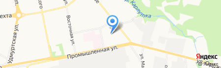 Parallax на карте Ижевска