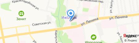 Фармация на карте Ижевска