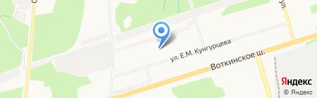 Ух ты блин на карте Ижевска