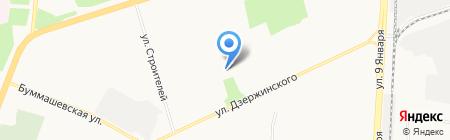 Детский сад №163 на карте Ижевска