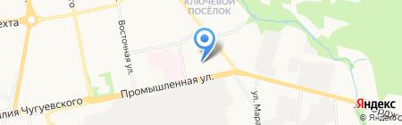 Ижевские ружья на карте Ижевска