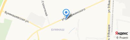 Квартет на карте Ижевска
