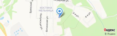 Детский сад №46 на карте Ижевска