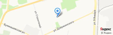 Детский сад №164 на карте Ижевска