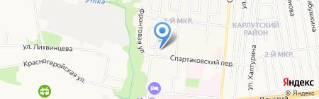 Детский сад №191 на карте Ижевска