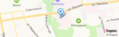 Информпечать на карте Ижевска