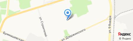Детский сад №211 на карте Ижевска