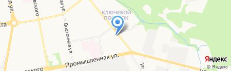 Фокус на карте Ижевска