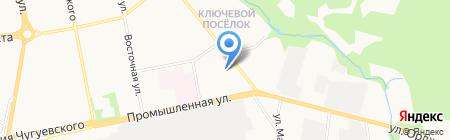 Баррикада на карте Ижевска