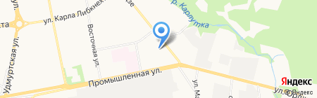 Алмакс на карте Ижевска
