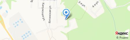 Средняя общеобразовательная школа №18 на карте Ижевска
