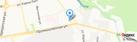 Вента-Авто на карте Ижевска