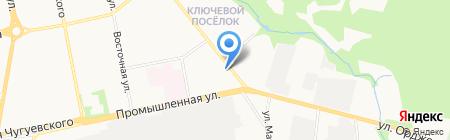Шарм на карте Ижевска
