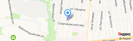 Детский сад №186 на карте Ижевска