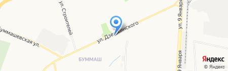 Почтовое отделение №50 на карте Ижевска