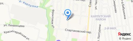 Комплексный центр социального обслуживания населения Индустриального района г. Ижевска на карте Ижевска